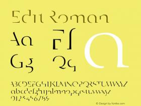 Edit Roman Version 001.000图片样张