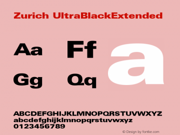 Zurich UltraBlackExtended Version 003.001图片样张