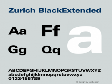 Zurich BlackExtended Version 003.001图片样张