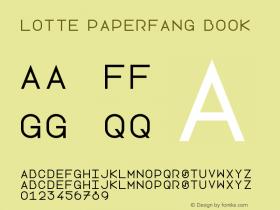 Lotte Paperfang Book Version 1.0图片样张