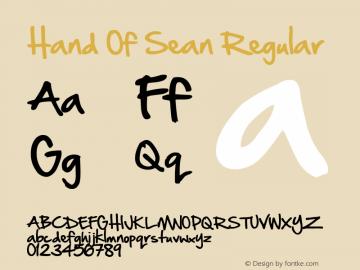 Hand Of Sean Regular Version 1.30 March 10th, 2009图片样张