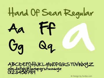 Hand Of Sean Regular Version 1.20 September 1st, 2008图片样张