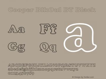 Cooper BlkOul BT Black mfgpctt-v4.4 Jan 1 1999图片样张