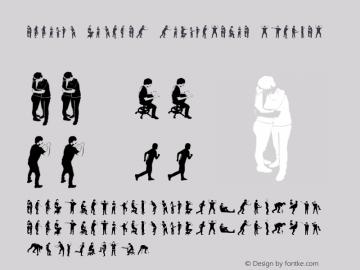 accion dingbat tipografia Regular Unknown图片样张