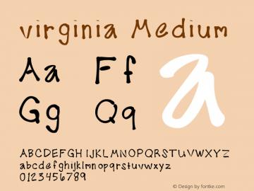 virginia Medium Version 001.000图片样张