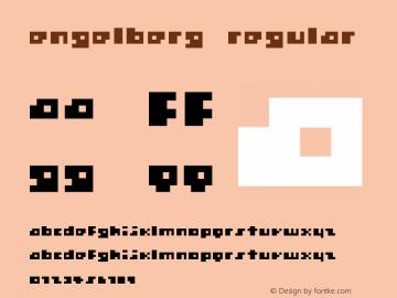 Engelberg Regular Unknown图片样张