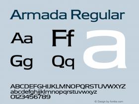 Armada Regular Version 001.000图片样张