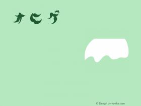 オヒゲ Regular Open Type Ver 1.00图片样张