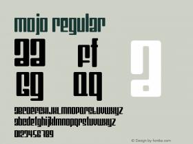 Mojo Regular Version 1.0图片样张