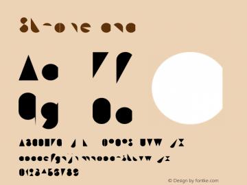 Stroke cnc Version 001.000 Font Sample
