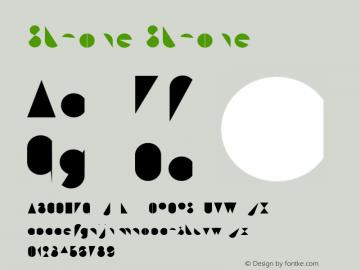 Stroke Stroke Version 001.000 Font Sample
