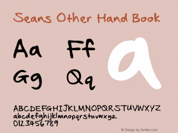 Seans Other Hand Book Version 2.10 January 2011图片样张