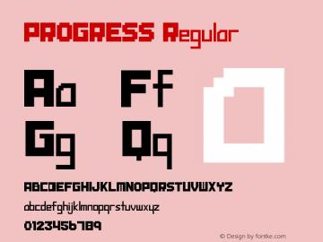 PROGRESS Regular Version 1.00 December 9, 2011 (Initial Release)图片样张