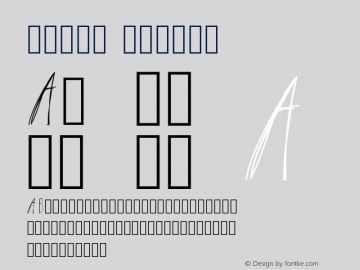 Latin Medium Version 001.000 Font Sample