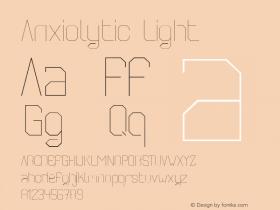 Anxiolytic Light Unknown图片样张