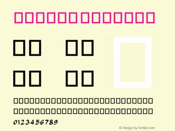 Farisi Regular 9.0d2e1图片样张