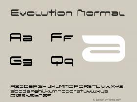 Evolution Normal Version 001.000图片样张