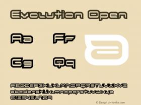 Evolution Open Version 001.000图片样张