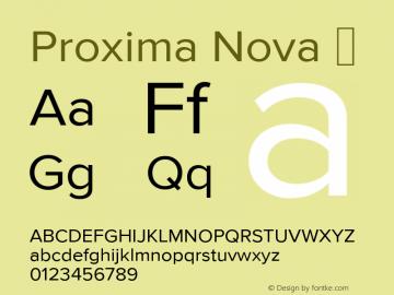 Proxima Nova ☞ Version 2.015;com.myfonts.marksimonson.proxima-nova.regular.wfkit2.gP5B Font Sample