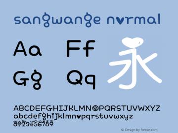 sangwange normal Version 0.2.0-beta图片样张