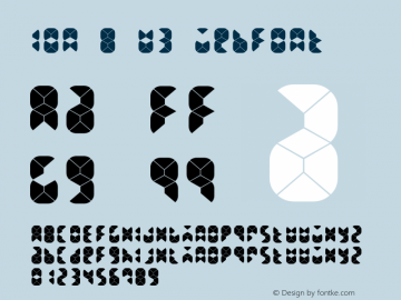 ION B U3 Webfont  This is a protected webfont and is intended for CSS @font-face use ONLY. Reverse engineering this font is strictly prohibited. Font Sample