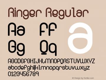 Ringer Regular Version 001.000图片样张