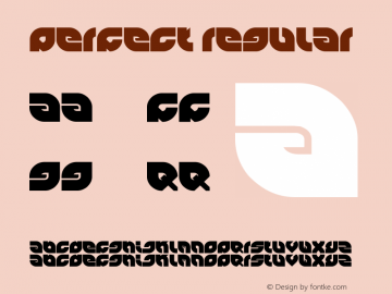 perfect Regular Version 1.00 September 29, 2011, initial release图片样张