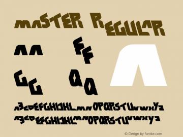 MASTER Regular Version 1.00 March 19, 2012, initial release图片样张