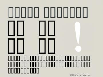 Ma_UI Regular Version 0.01 February 21, 2015 Font Sample