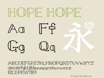 HOPE HOPE HOPEHOPE图片样张