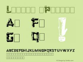 Logger (Plain) 001.001 Font Sample