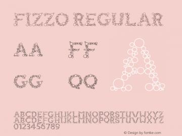 FIZZO Regular Version 1.000;PS 001.001;hotconv 1.0.56图片样张