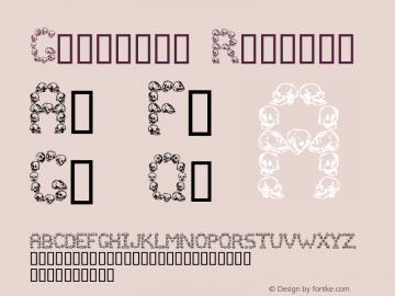 Golgotha Regular Altsys Fontographer 4.0 9/14/93 Font Sample