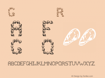 Golgotha Regular Altsys Fontographer 4.0 9/13/95 Font Sample
