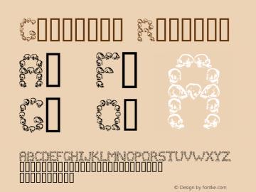 Golgotha Regular Macromedia Fontographer 4.1 26/04/2005 Font Sample