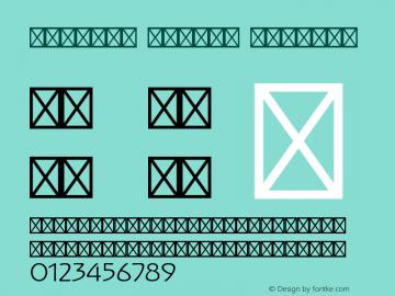 Koloman Modern Regular Version 1.004 1909 Font Sample