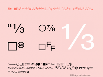 WP TypographicSymbols Normal 1.0 Fri Sep 03 12:44:40 1993 Font Sample