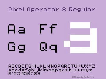 Pixel Operator 8 Regular Version 1.4.2 (September 30, 2015)图片样张