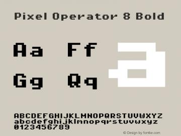 Pixel Operator 8 Bold Version 1.5.0 (October 25, 2015)图片样张