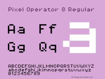 Pixel Operator 8 Regular Version 1.5.0 (October 25, 2015)图片样张