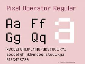 Pixel Operator Regular Version 1.5.0 (October 25, 2015)图片样张
