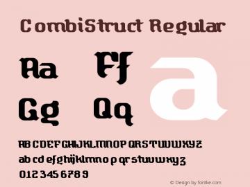 CombiStruct Regular Version 1.0图片样张