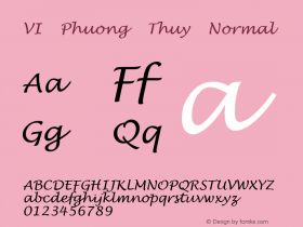 VI Phuong Thuy Normal VISCII 1.1 Fri Sep 24 08:13:56 1993图片样张