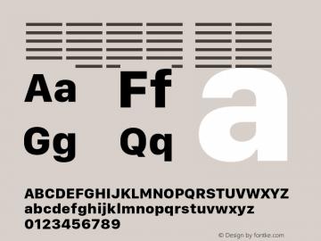 系统字体 粗体 11.0d10e2 Font Sample