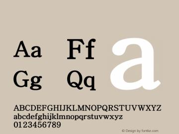 系统字体 粗体 Version 1.00 October 18, 2015, initial release Font Sample