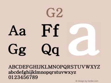 系统字体 粗体 G2 Version 1.00 October 18, 2015, initial release Font Sample