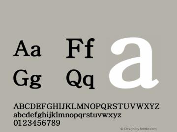 系统字体 半粗体 Version 1.00 October 18, 2015, initial release Font Sample