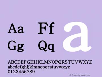 系统字体 黑 Version 1.00 October 18, 2015, initial release Font Sample