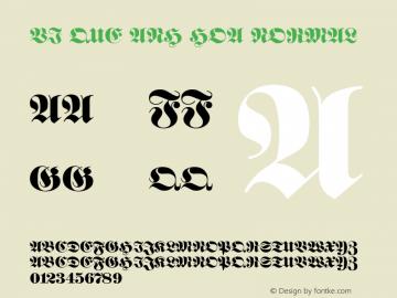 VI Que Anh Hoa Normal 1.0 Thu Oct 14 14:46:23 1993图片样张