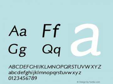 系统字体 黑 11.0d44e1 Font Sample